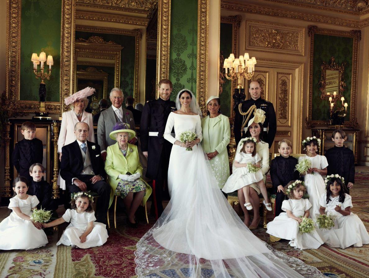 Royal wedding, ecco le prime foto ufficiali dopo le nozze