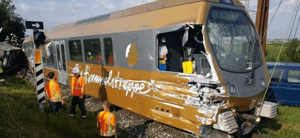 Incidente ferroviario in Austria: 26 feriti, 2 gravi