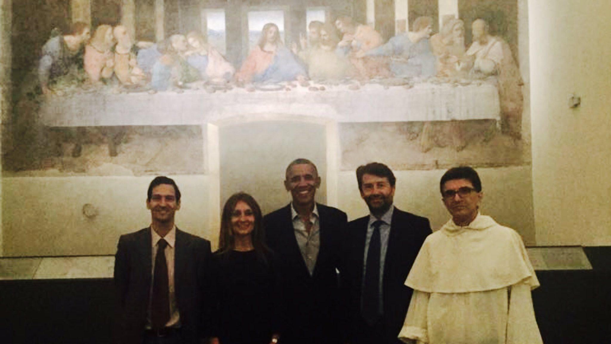 Obama a Milano, secondo giorno di visite culturali: dal Cenacolo Vinciano all evento SeedeCheeps