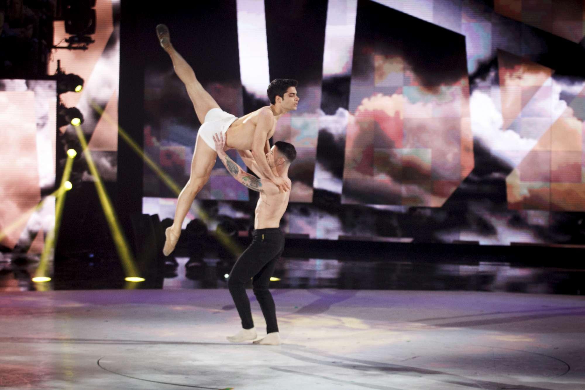 Oliviero, il ballerino vola ad