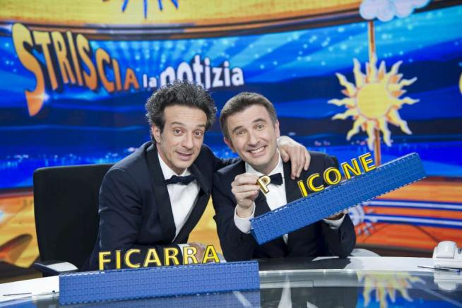 Striscia la Notizia , dietro al bancone tornano Ficarra e Picone