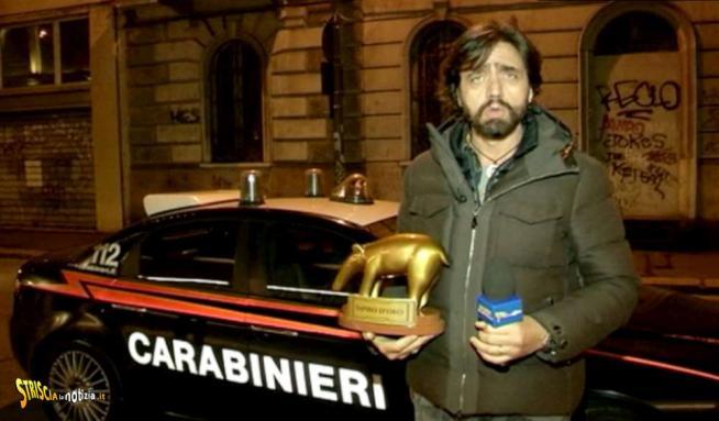 Belen rifiuta il Tapiro d Oro e chiama i carabinieri sotto casa