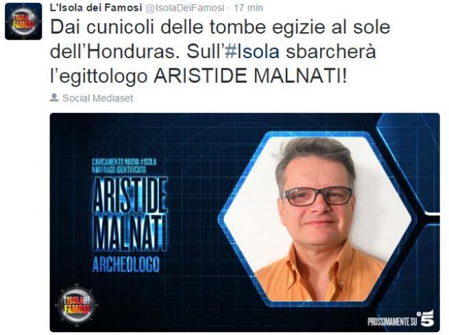 L Isola dei Famosi , ci sono due nuovi naufraghi: Aristide Malnati e Jonàs Berami