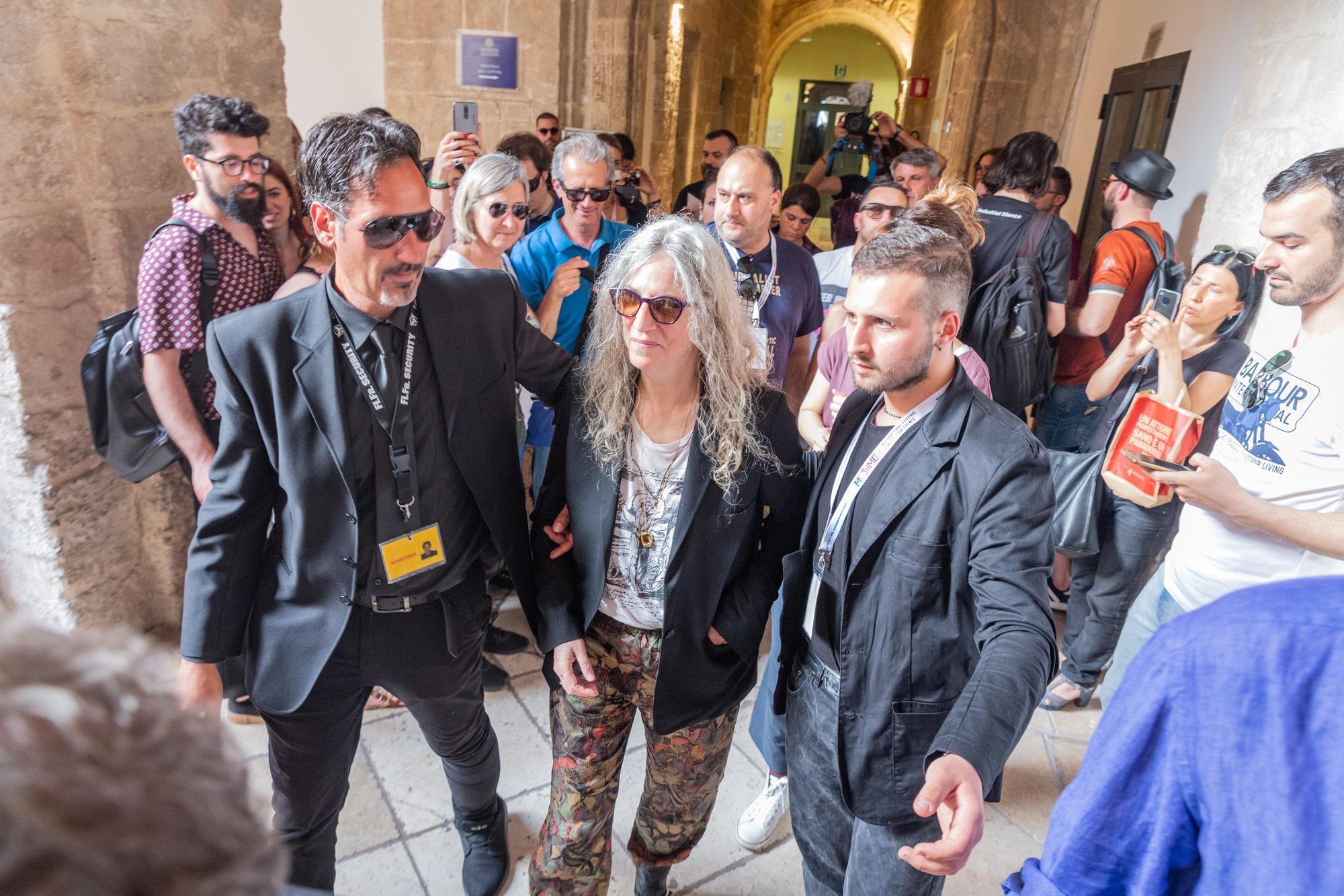 Patti Smith protagonista di un incontro d autore a Taranto
