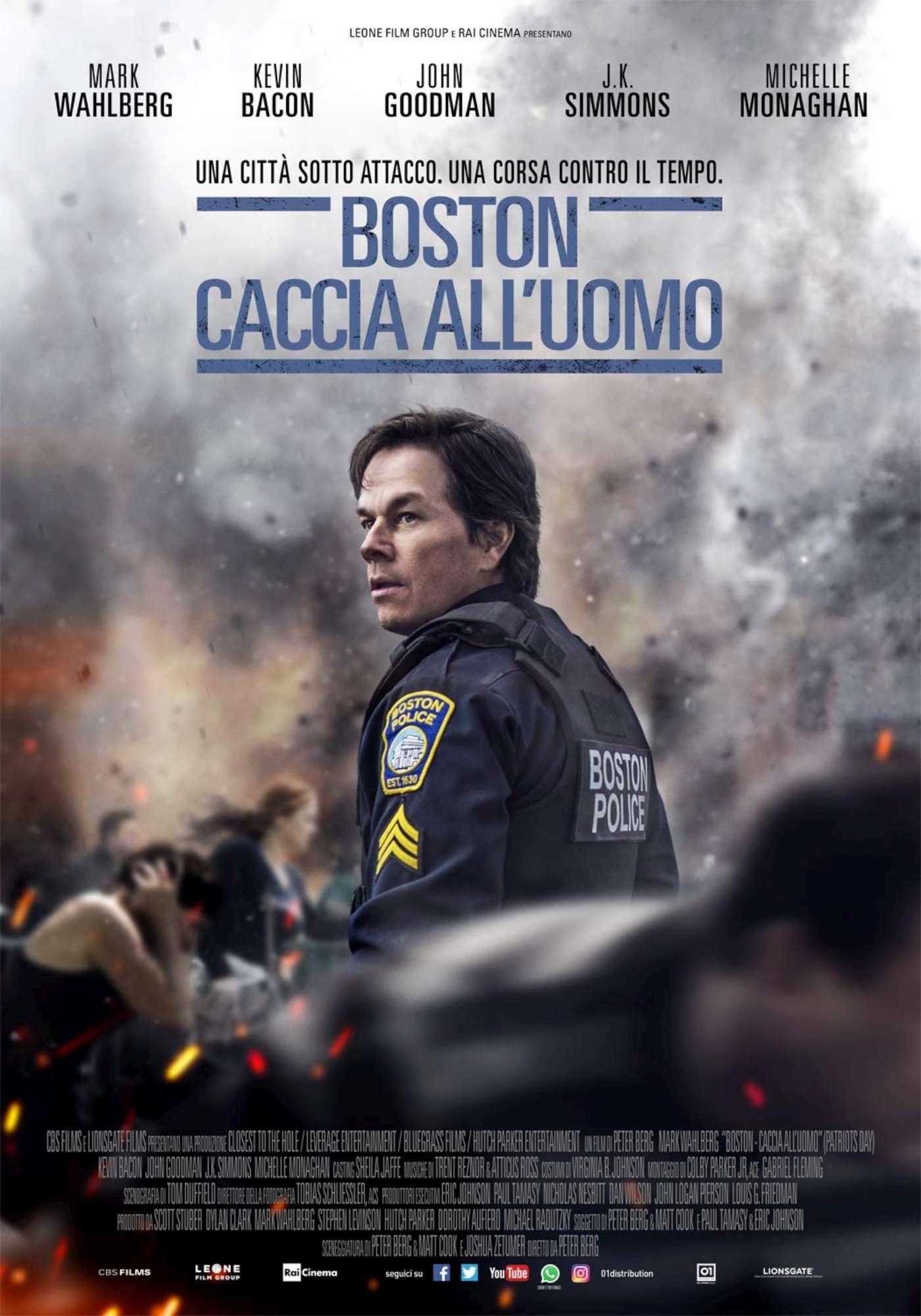 Boston - Caccia all uomo , le immagini del film