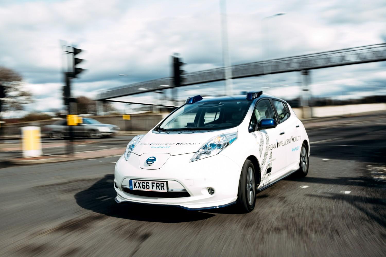 Guida autonoma, lo scatto di Nissan