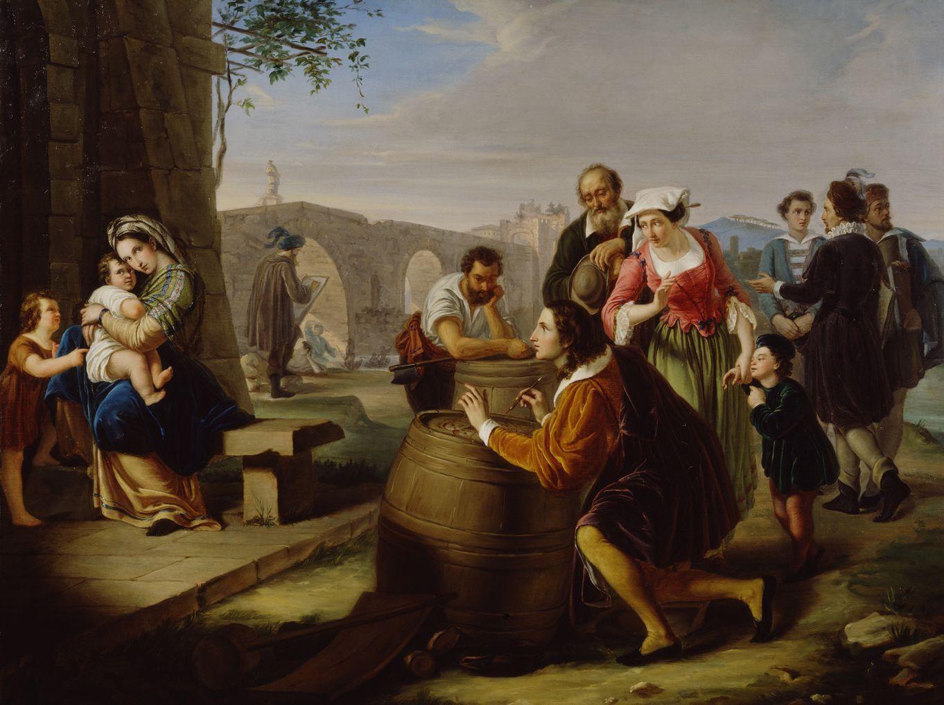 Raffaello e l eco del mito