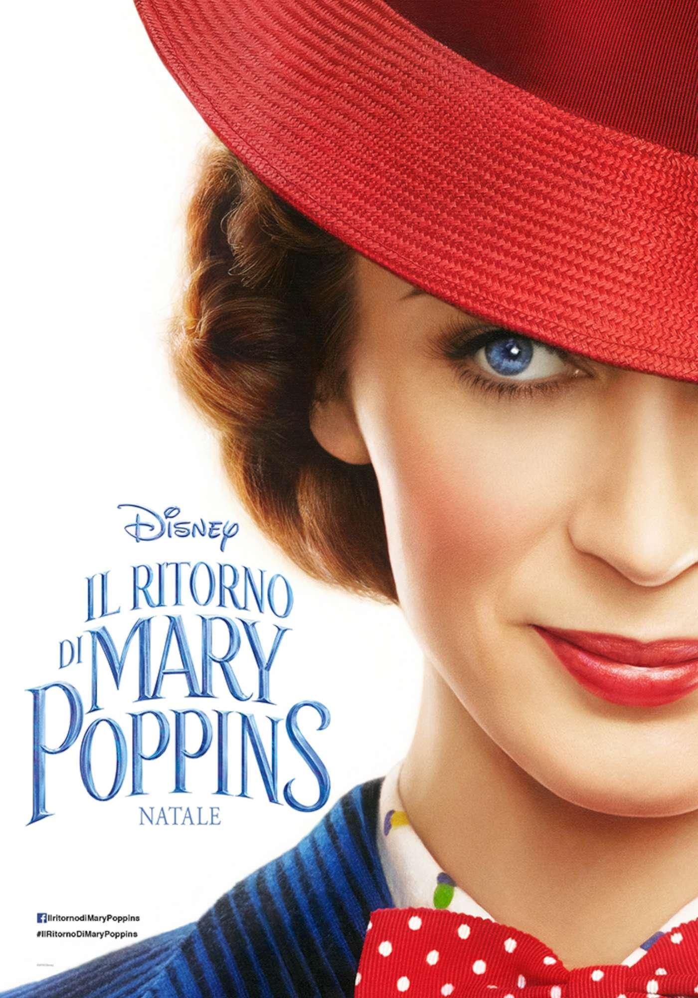 Il Ritorno di Mary Poppins, le foto dal set