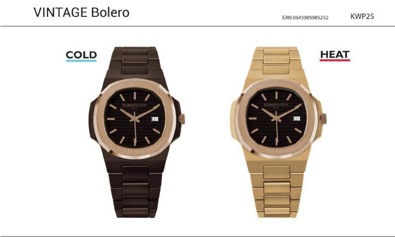 L'orologio più trendy cambia colore in base al tempo