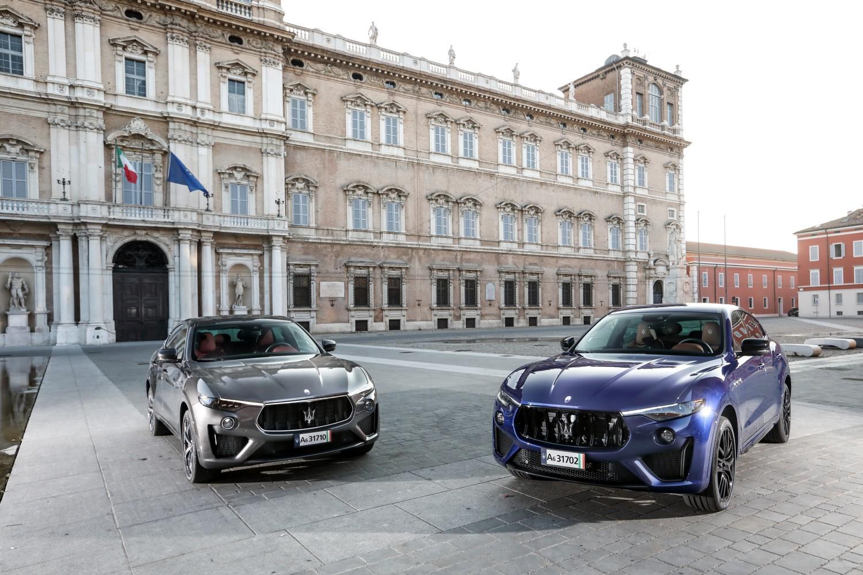 Il Tridente d'attacco Maserati