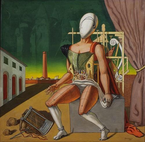 Giorgio de Chirico torna a Milano cinquant anni dopo l ultima mostra