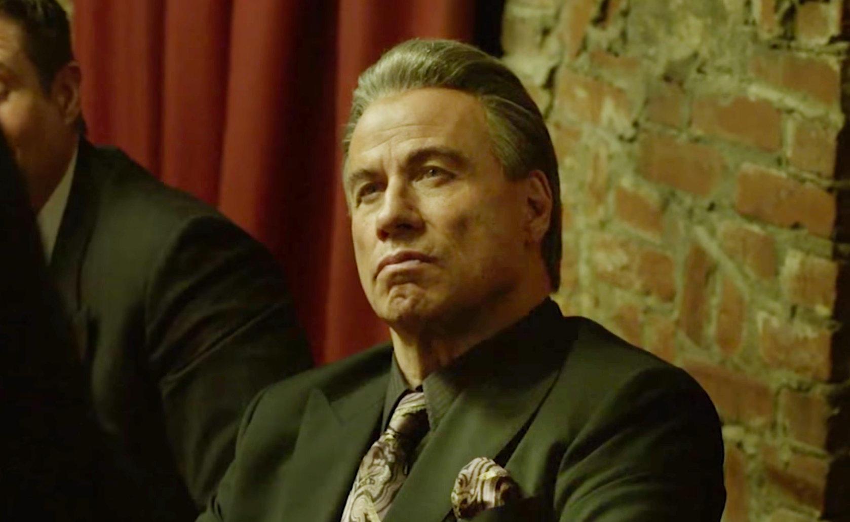 John Travolta nei panni di  Gotti - Il primo padrino