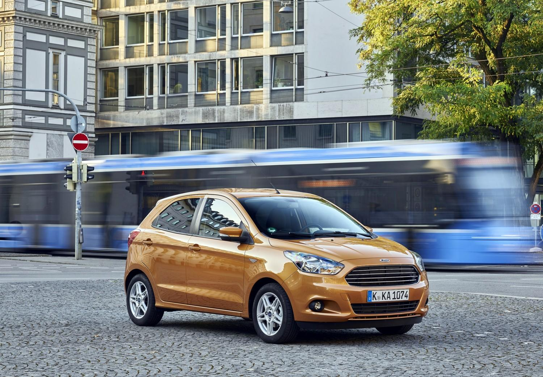 La nuova Ford Ka +