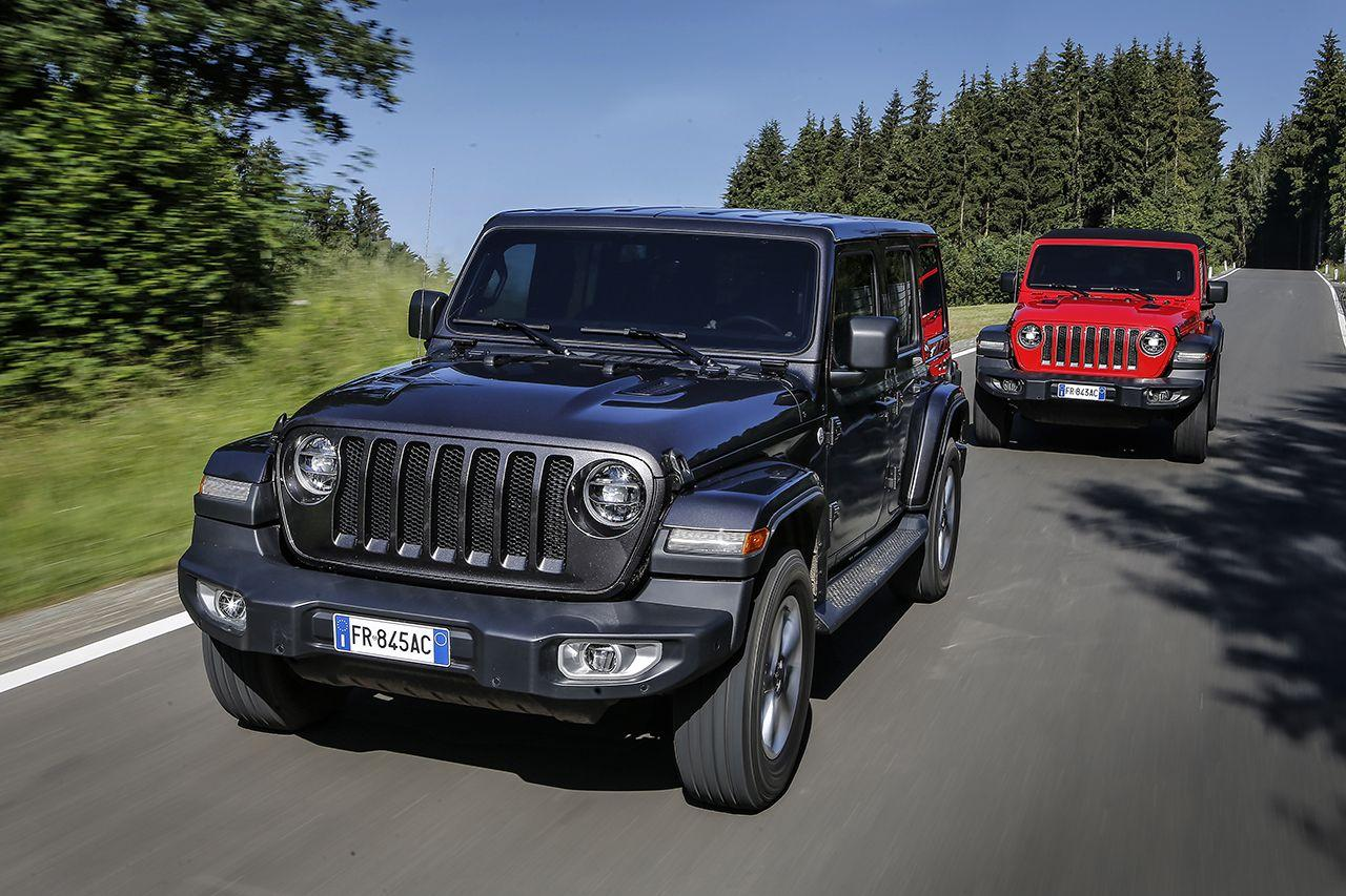 Wrangler, la Jeep evergreen