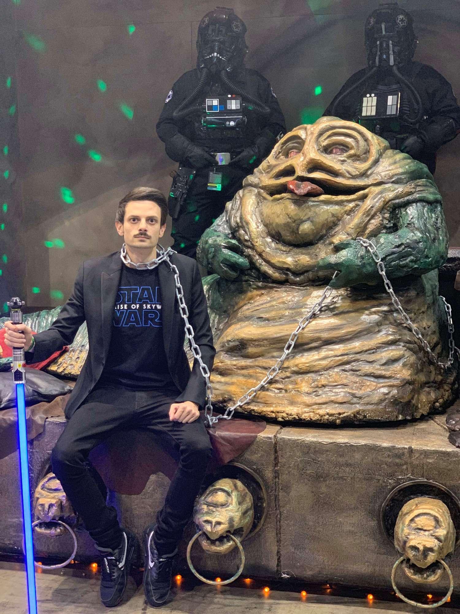 La Forza è con Rovazzi: il conduttore alla convention di Star Wars a Chicago