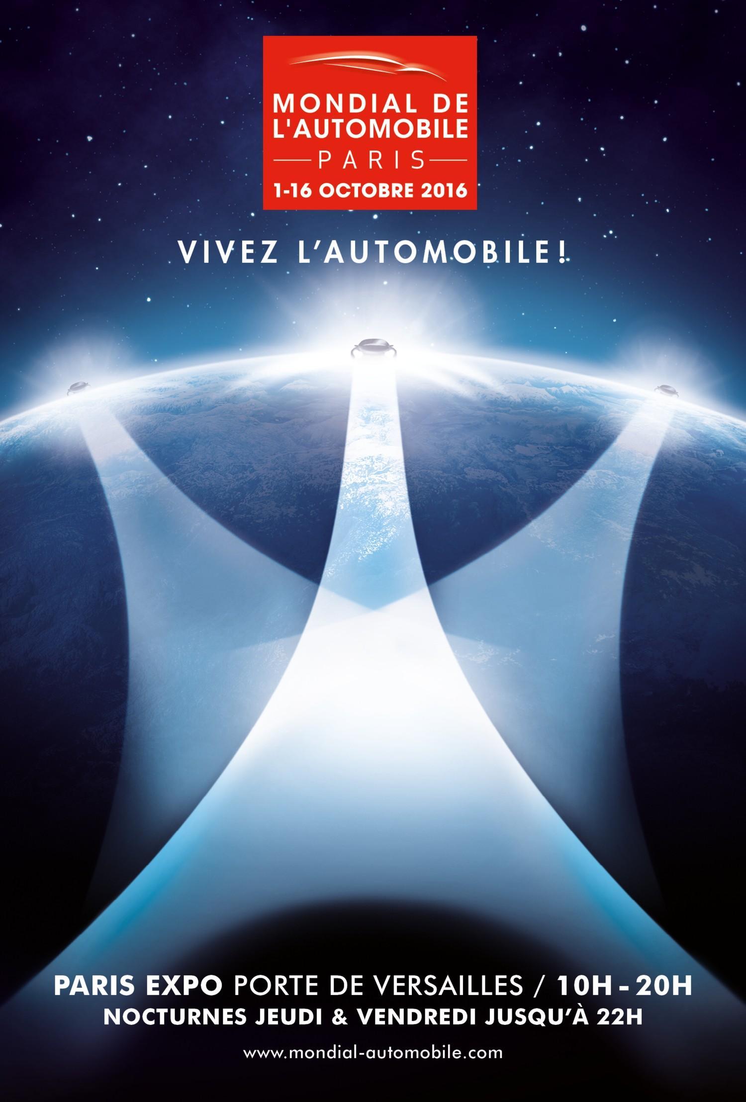 Mondial Auto di Parigi 2016