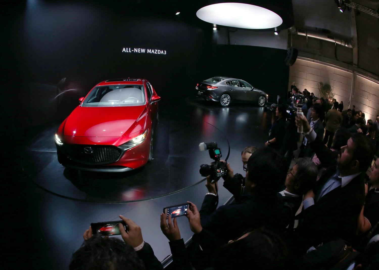 Nuova Mazda 3 Fascino E Tecnologie A Braccetto Tgcom24