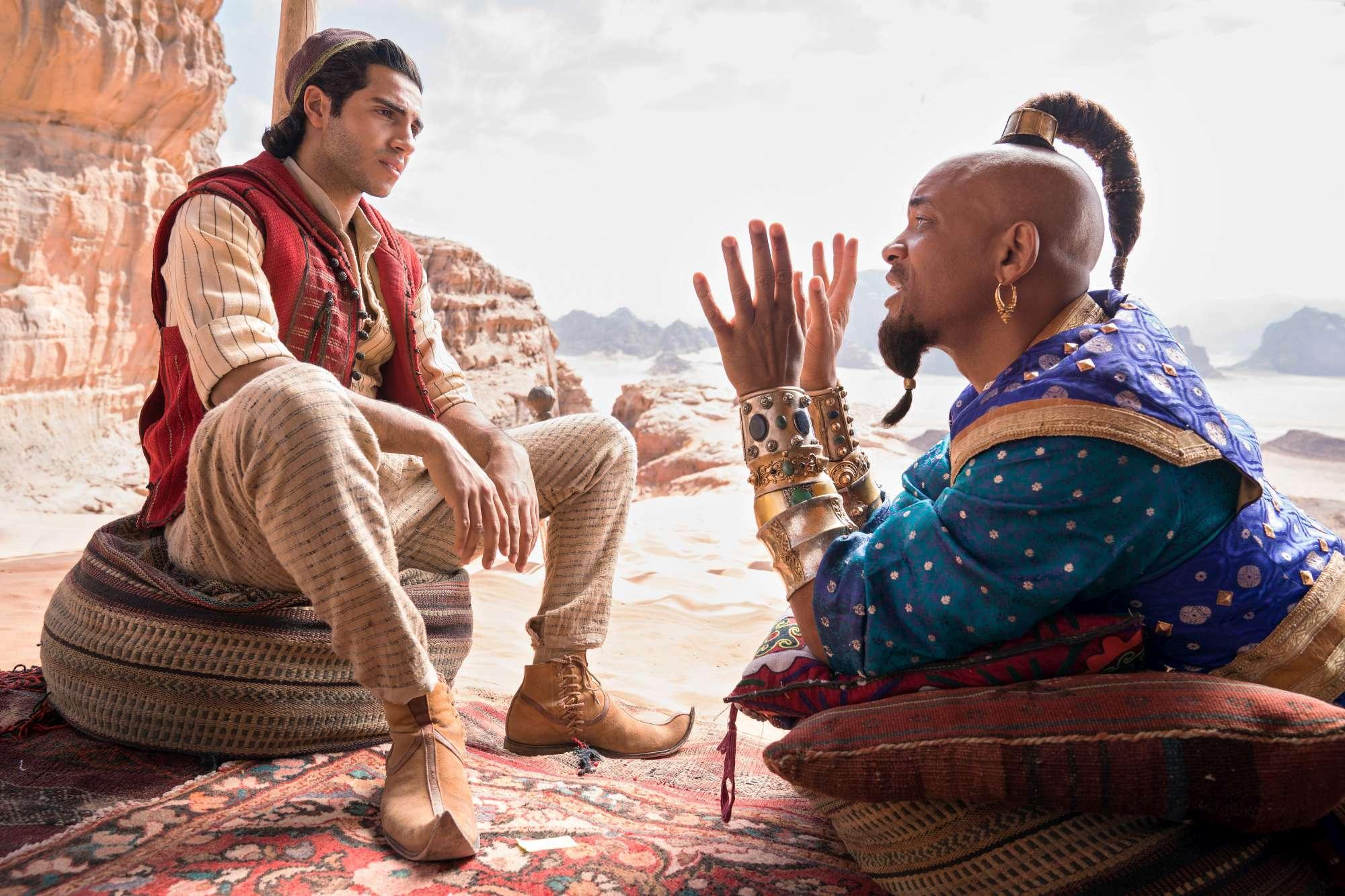 Aladdin , la favola Disney prende vita