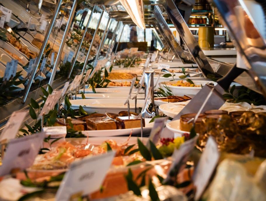 Alta gastronomia: un fantastico bancone dei desideri