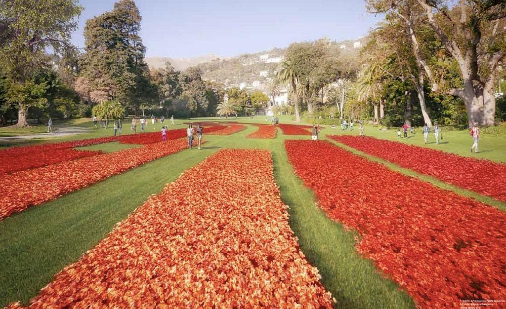 Euroflora, Genova: tra corolle e labirinti