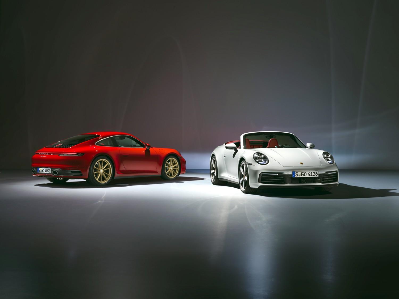 Le nuove 911 Carrera