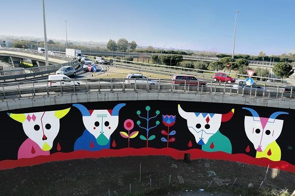 Il Grande Raccordo Anulare incontra la Street Art con il progetto GRAArt