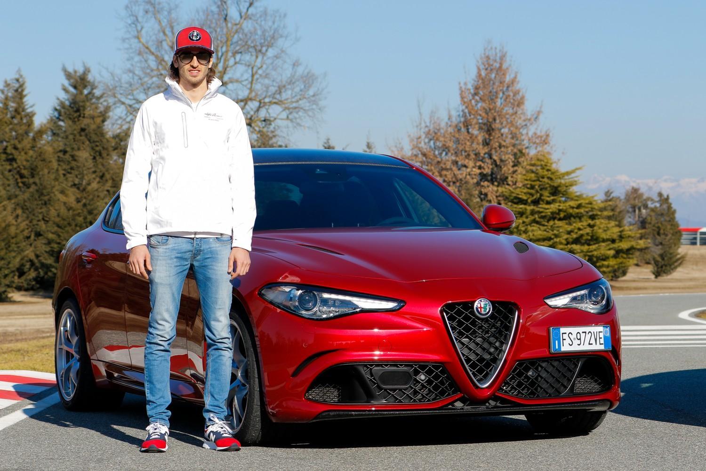 Le Quadrifoglio alla prova del team Alfa Romeo Racing