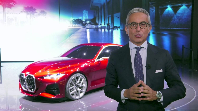 BMW Concept 4 allo IAA 2019