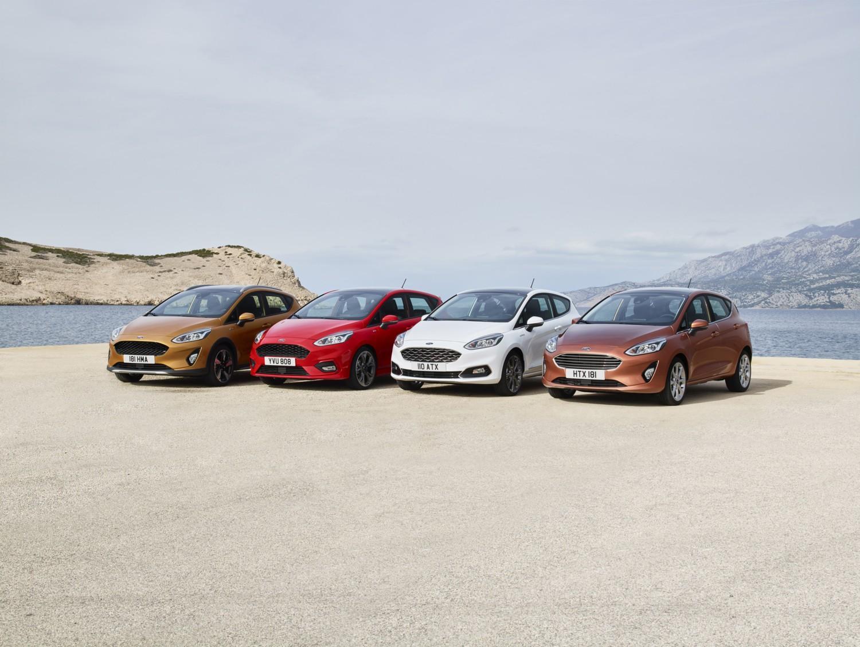 La settima generazione di Ford Fiesta