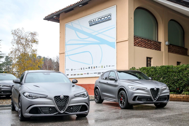 Alfa Romeo Stelvio E Giulia A Balocco Foto Tgcom24