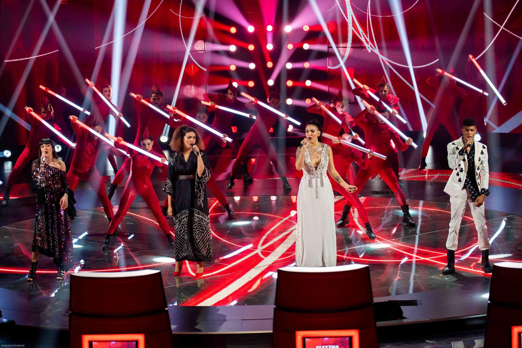 The Voice of Italy , vince Carmen Pierri del team  D Alessio : guarda le immagini della finale