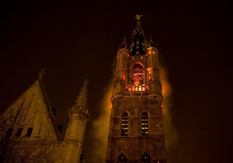 Belgio: Light Festival nella medievale Gand