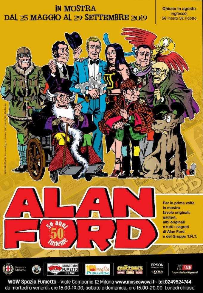 c499d9467d Milano, Wow Spazio Fumetto omaggia i 50 anni di Alan Ford - Tgcom24