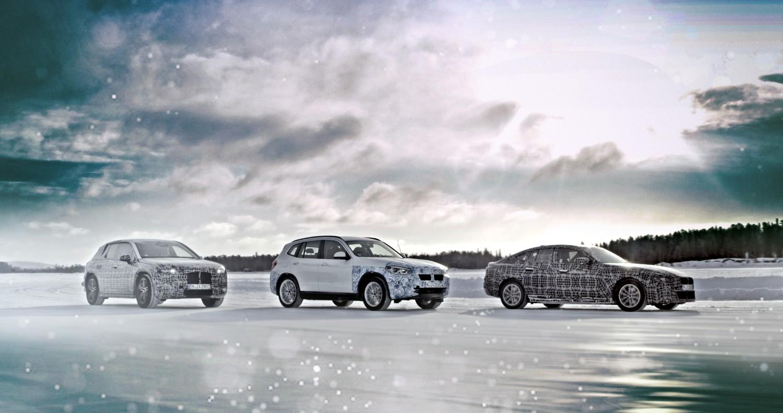 L'elettrico BMW con i modelli iX3, i4, iNext