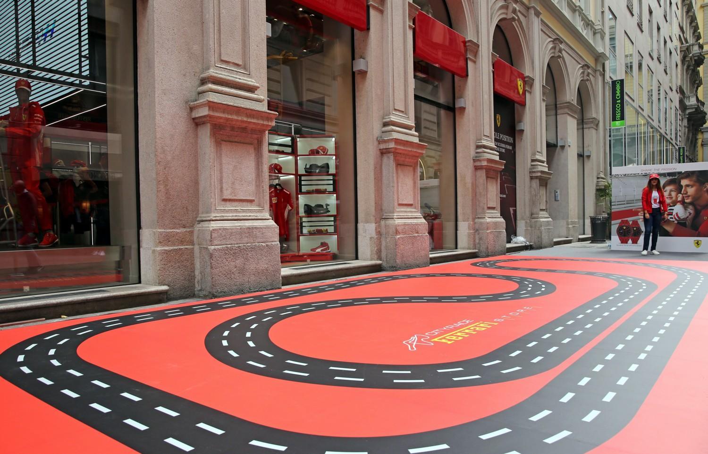 Passione rossa a Milano