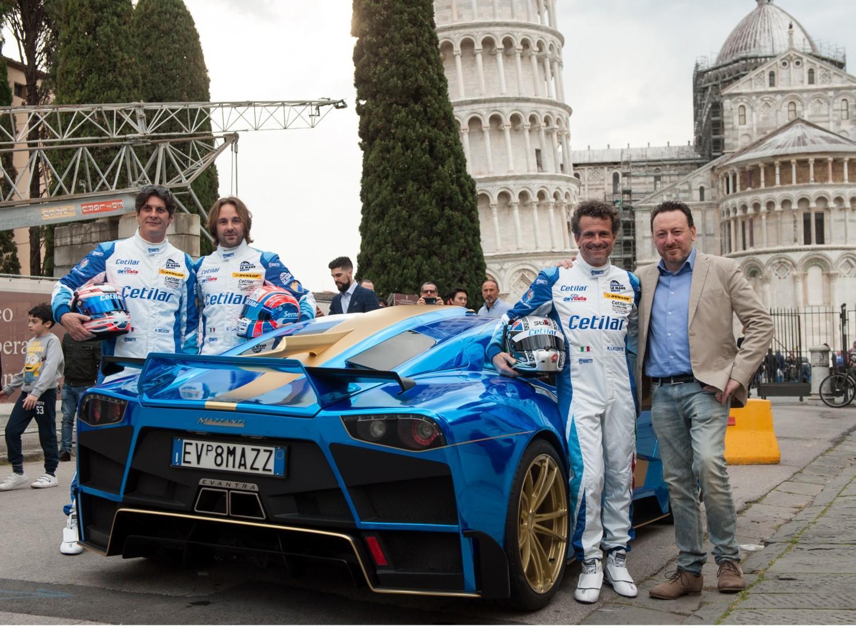 A Pisa il team italiano per Le Mans