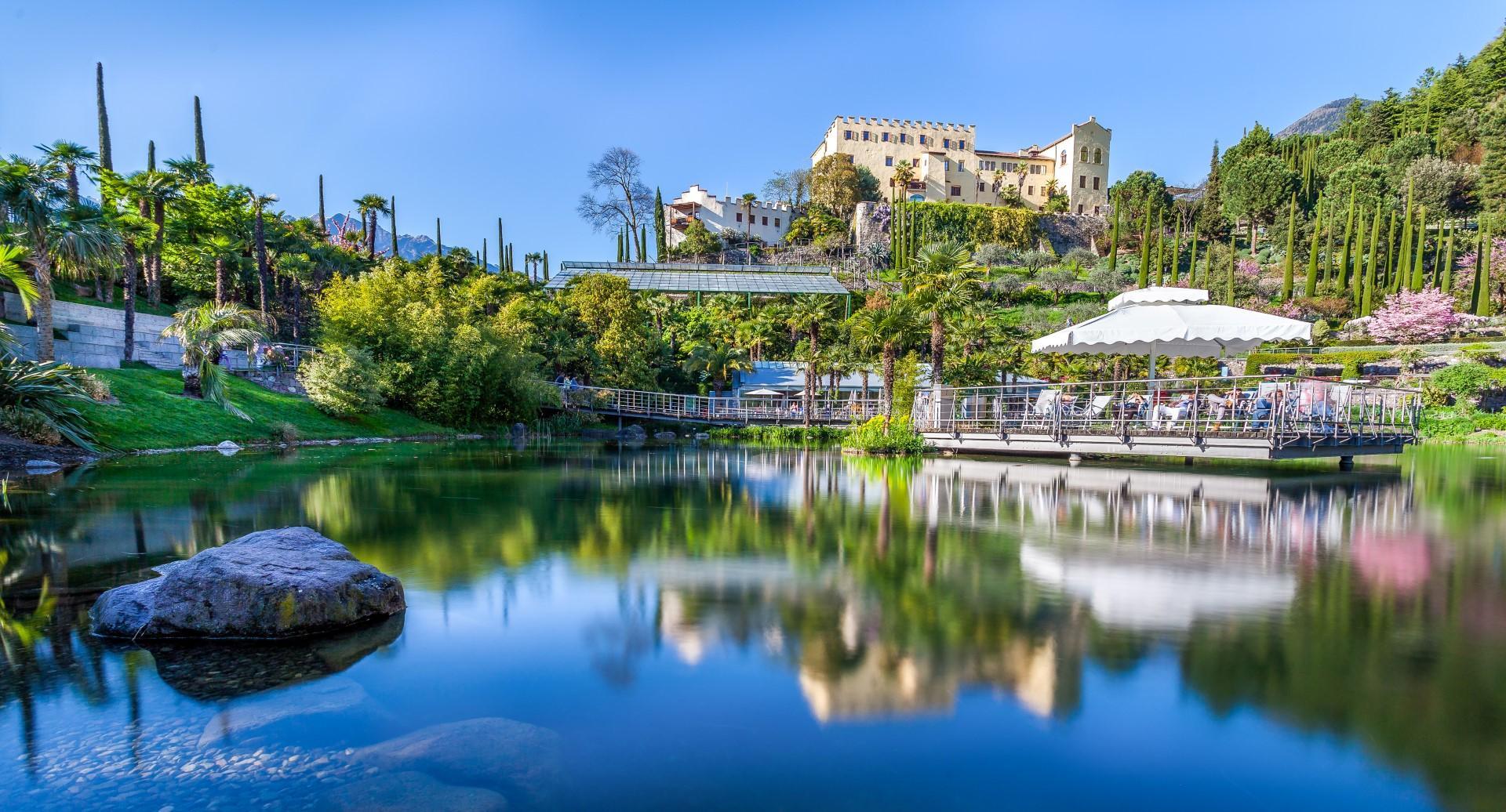 Alto Adige: a Merano fioriscono i giardini di Sissi