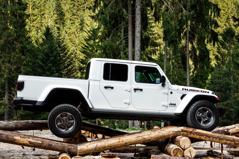Prima europea per Jeep Gladiator
