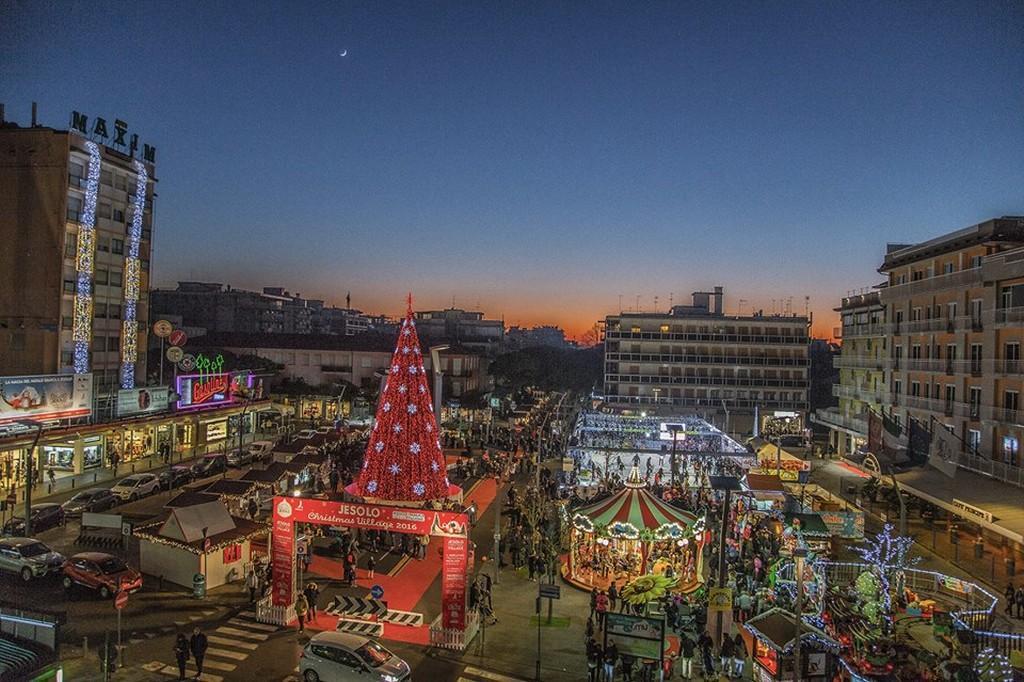 Natale a Jesolo, tra sabbia, shopping e cioccolato