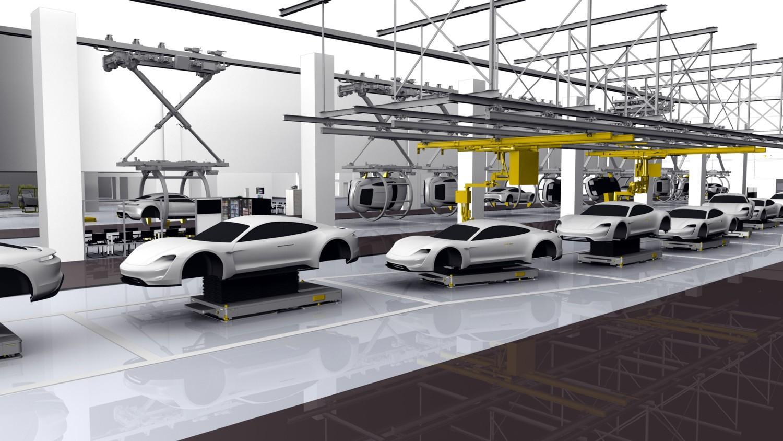 Ecco la Porsche Taycan