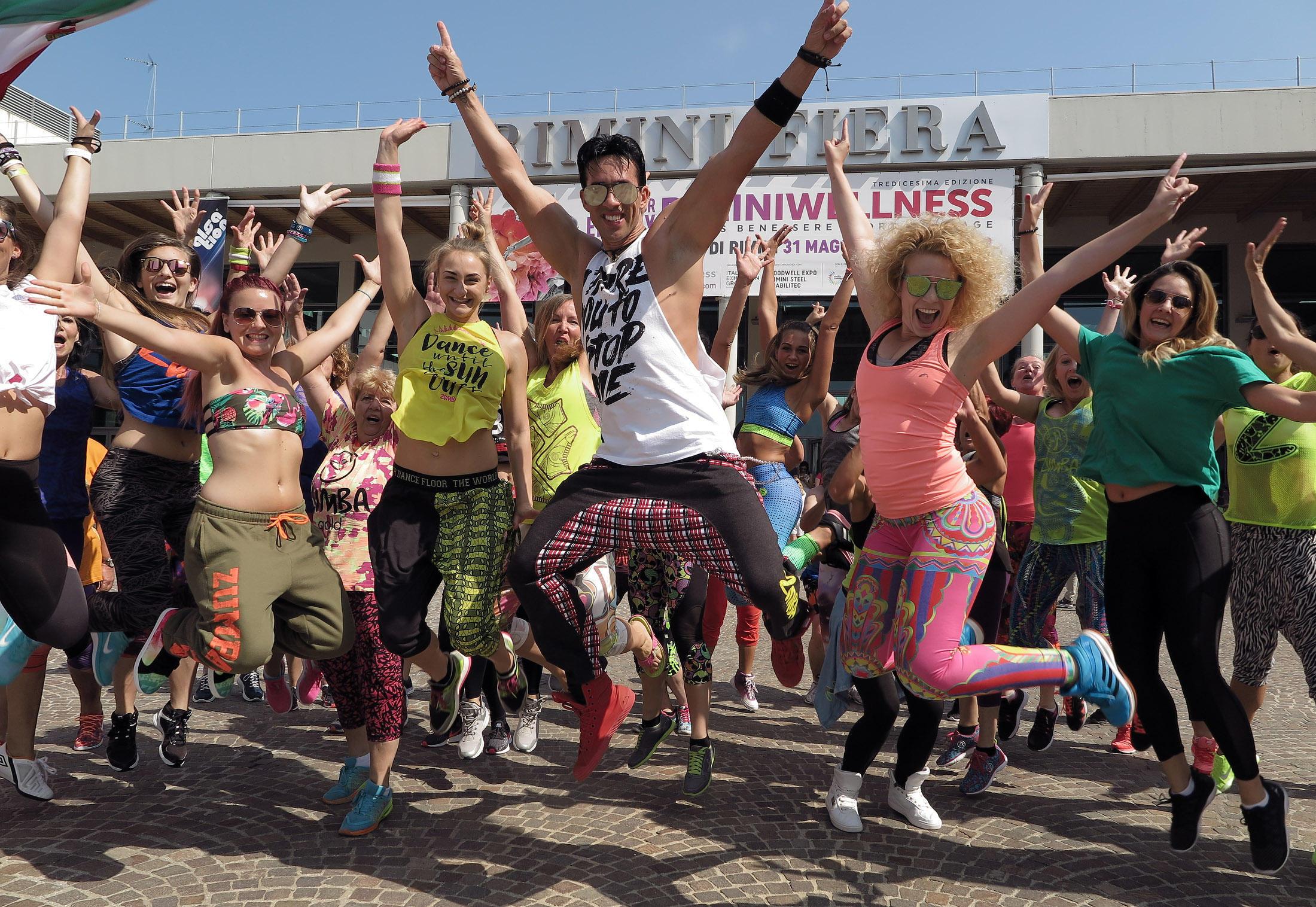 RiminiWellness: la travolgente vitalità del popolo del fitness