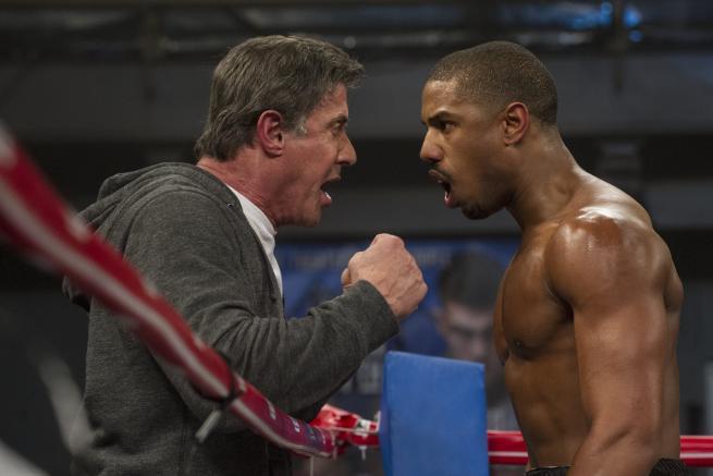Creed - Nato per combattere , Stallone sorprende nel nuovo Rocky