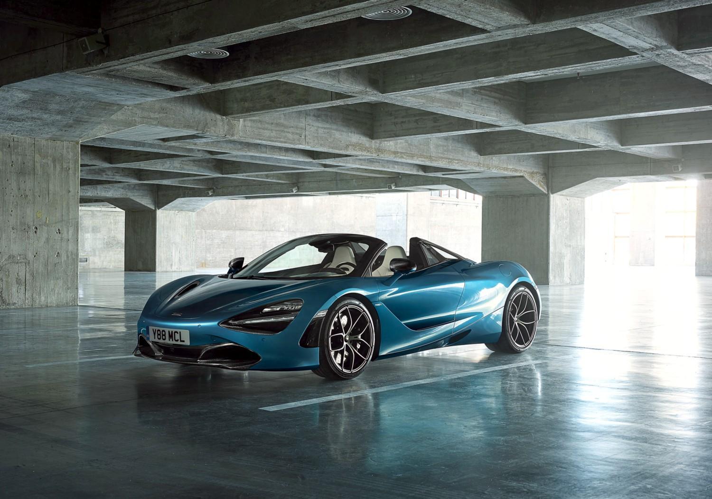 Una spider l'ultima meraviglia McLaren