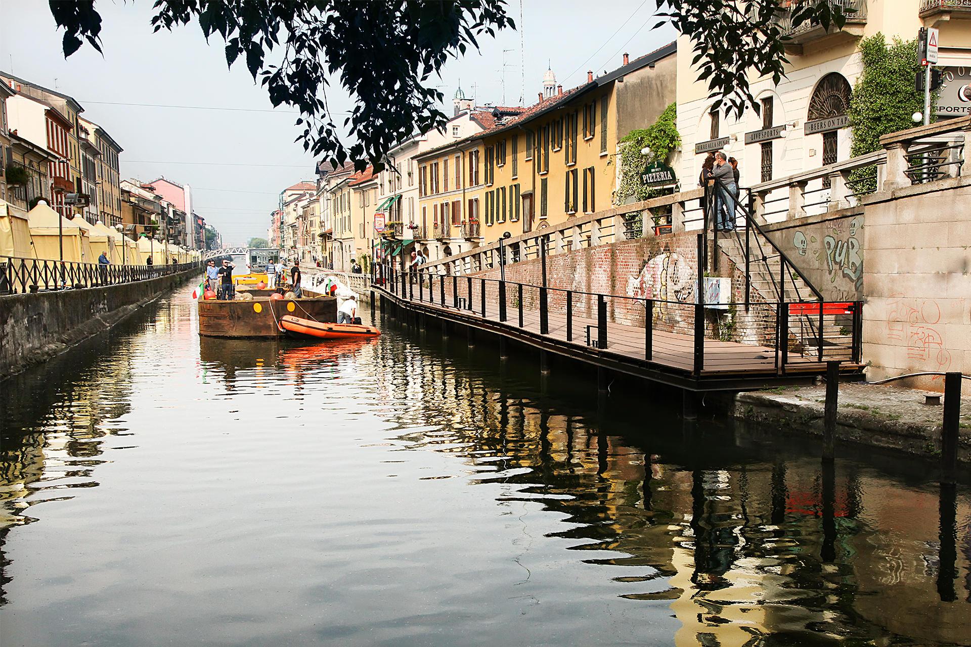 Duomo di Milano, i percorsi d acqua che permisero il trasporto dei marmi