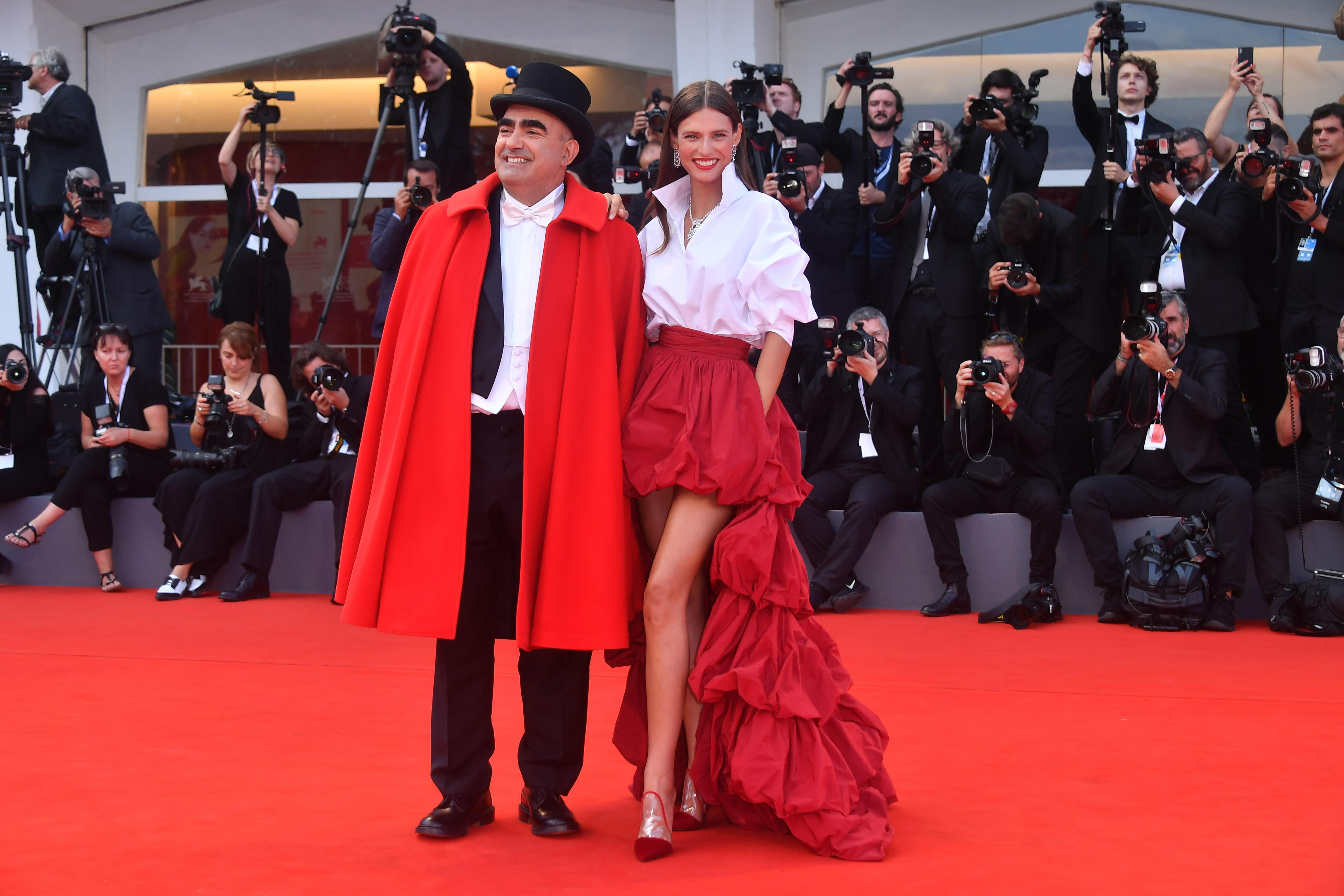Bianca Balti ed Elio sul red carpet alla Mostra del Cinema