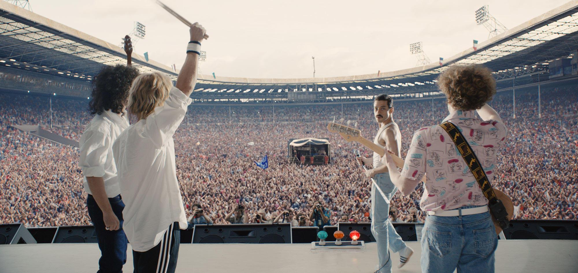 Bohemian Rhapsody , le immagini del film sulla storia dei Queen