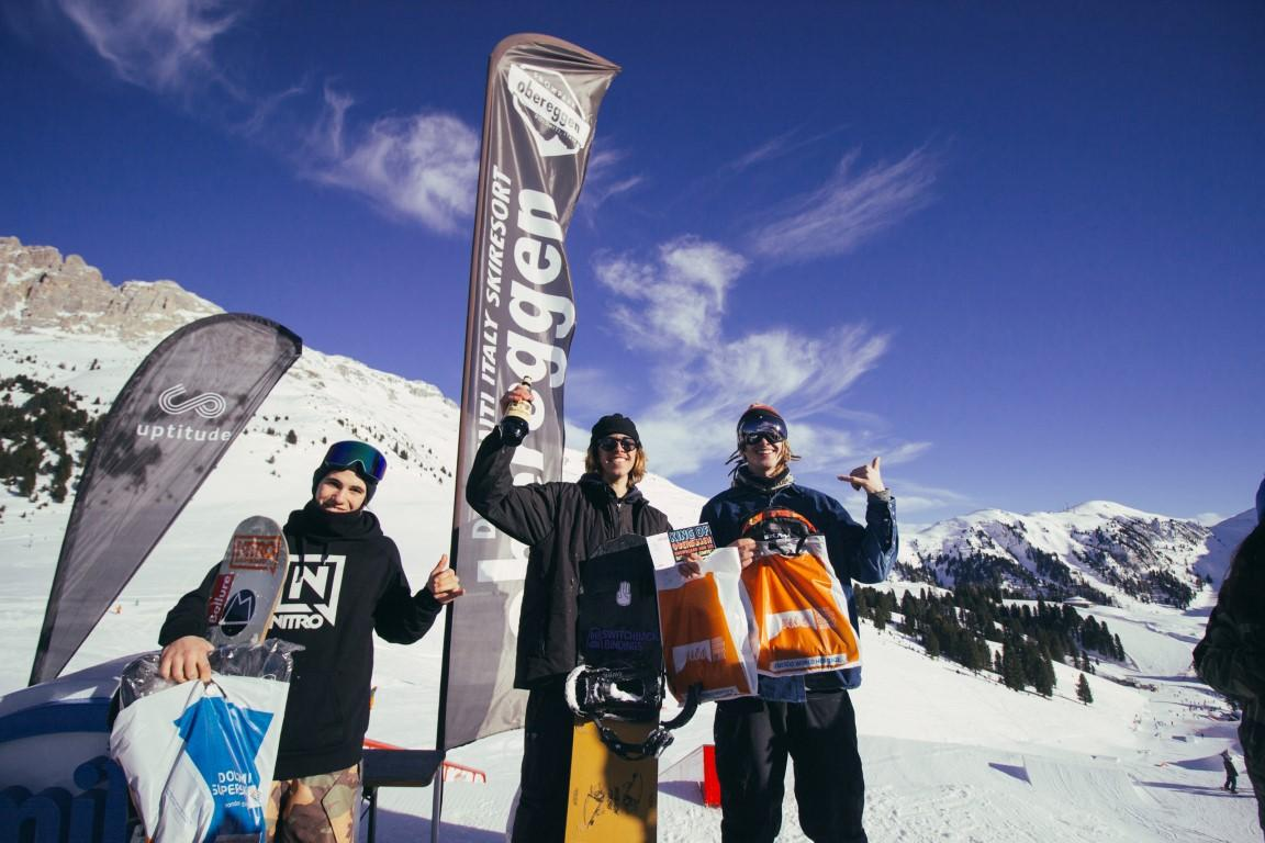 Neve magica: Obereggen paradiso dello snowboard