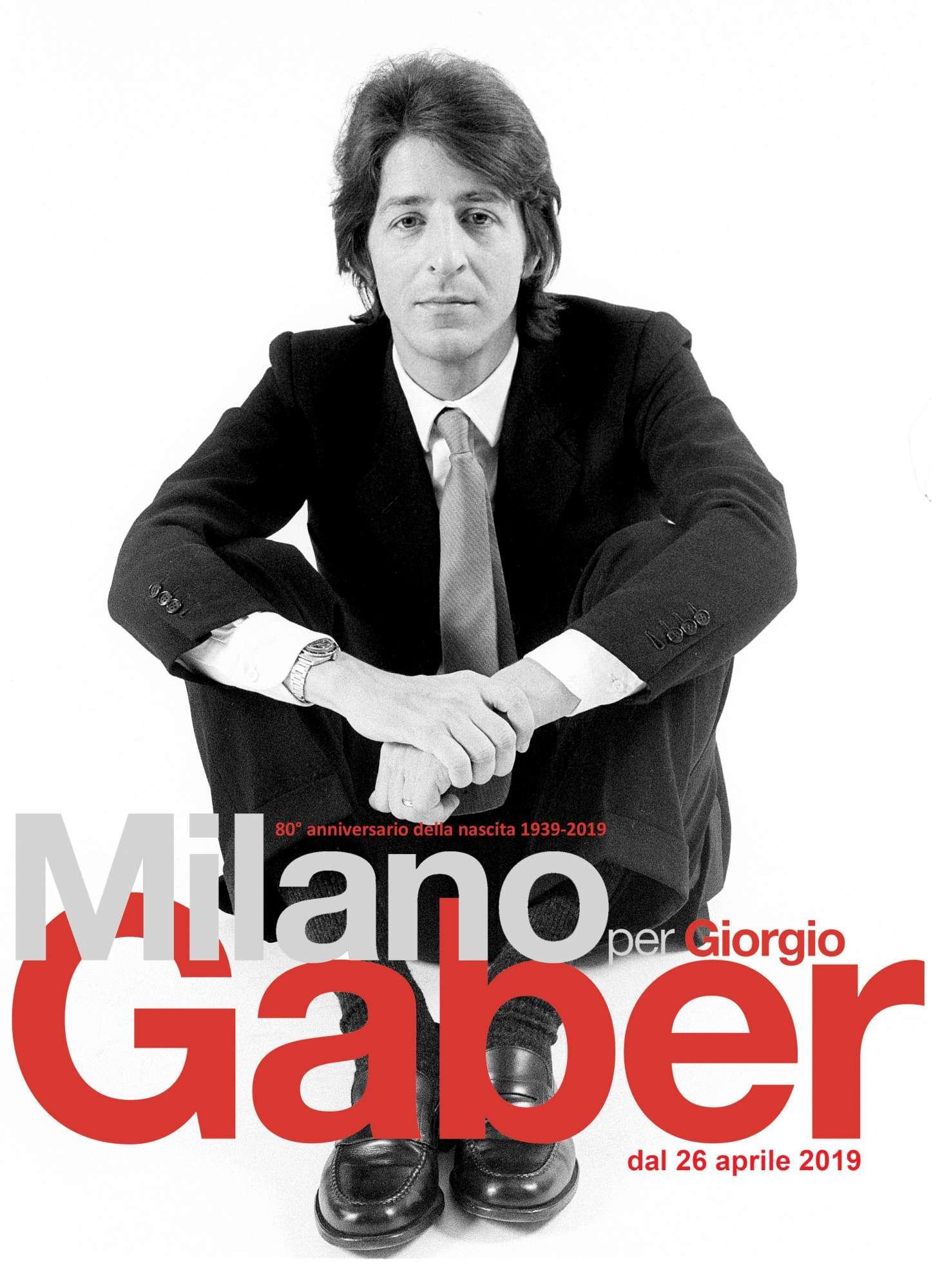 Milano per Gaber  celebra il signor G.
