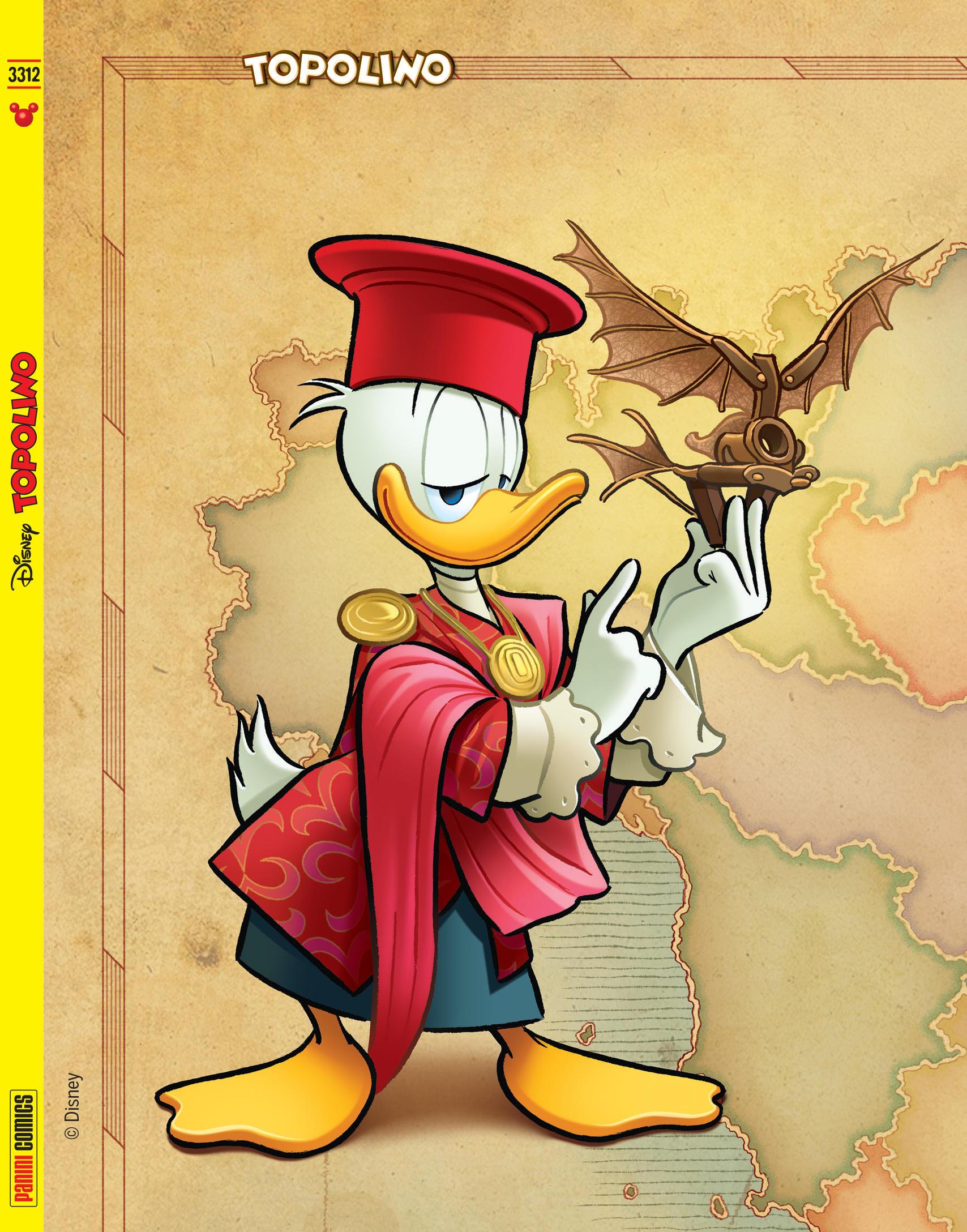 Topolino celebra il genio di Leonardo da Vinci: Paperino arriva in Italia