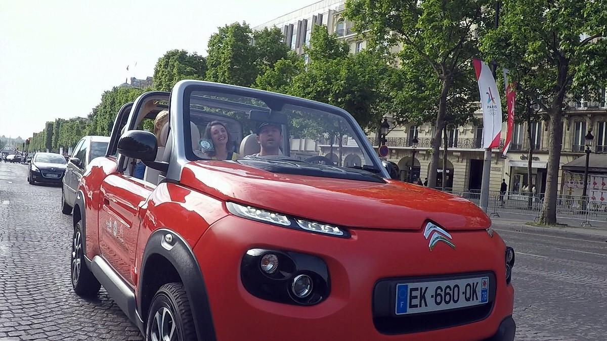 Citroen E-Mehari a Parigi